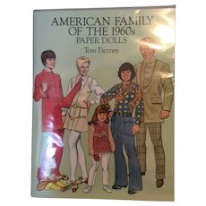 American Family of the 1960's Paper Dolls by Tom Tierney