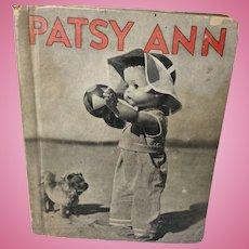 Effanbee Patsy Ann Book 1935