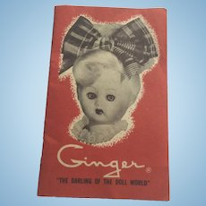 Ginger Booklet Reference friend of Ginny Muffie
