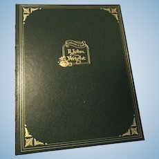 R. John Wright Collectors Club Pin and Books
