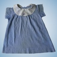Vintage Blue Baby Doll Dress
