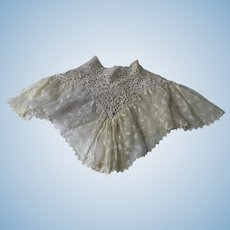Victorian Collar Flounce for Doll Costume