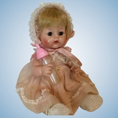 """Sweet Tears Madame Alexander 12"""" Baby Doll with Bottle & Pacifier"""