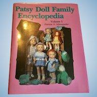 Effanbee Patsy Doll Family Encyclopedia Book Great Condition
