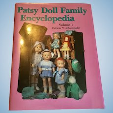 Effanbee Patsy Doll Family Encyclopedia Book Great Condition