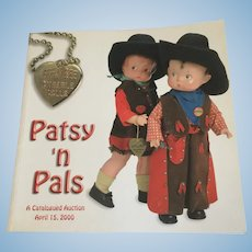 Theriault's Patsy 'n Pals Auction Catalogue Effanbee Dolls