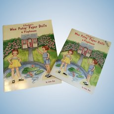 Effanbee's Wee Patsy Paper Dolls and Playhouse and Wee Edition