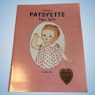 Effanbee's Patsyette Paper Dolls by John Axe