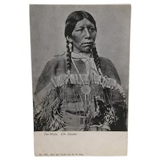 Real Photo American Indian Ow-Wuts Ute Tribe Postcard