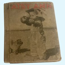 Patsy Ann Her Happy Times by Mona Reed King 1936 Book