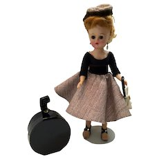 "10"" Vogue Jill Doll and Hat Box"
