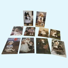Wendy Lawton Doll Postcards Set of 10