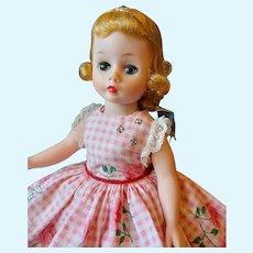 Madame Alexander Cissette Pink Tagged Sun Dress