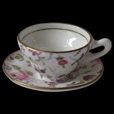 Rosina Miniature Cup & Saucer