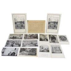 Alcott Collection Postcards/Tour Book