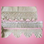 Lace Trim for Antique Doll Clothes