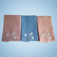 Marghab Waterleaf Fingertip Towels