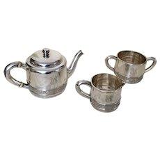 Gorham Silver Soldered Tea Set