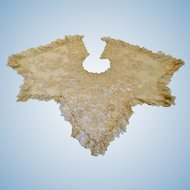 Victorian Lace Collar/Cape/Shawl for Large Antique Doll