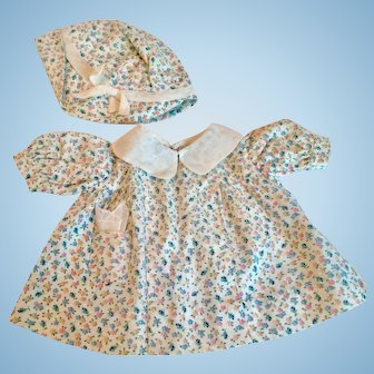 Compo Doll Dress and Hat