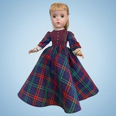 "Jo Madame Alexander 14"" Little Women Maggie Face"