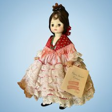 "Madame Alexander Carmen Opera Series Doll 14"""