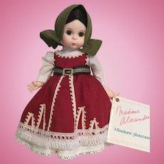 "Madame Alexander 8"" Bulgaria Doll"