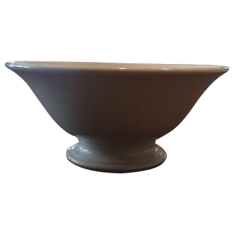 Petite Ironstone Pedestal Punch Bowl Great Condition