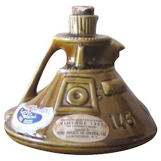 Vintage 1969 Apollo 11 Space Capsule Wine Decanter