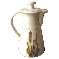 Vintage Canadian Galleon Ware Coffee Pot
