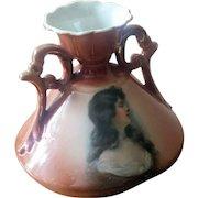 Vintage Portrait Vase