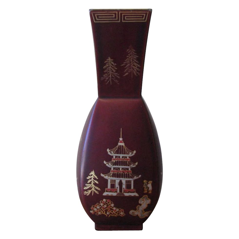 Vintage 1940s occupied japan lacquerware vase by maruni click to expand reviewsmspy