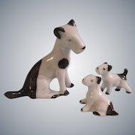 3 Precious Porcelain Pups for your Dollhouse Dolls