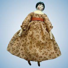 "Sweet Smiling 6"" China Head Dollhouse Doll"