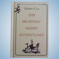 Vintage Palmer Cox The Brownies Merry Adventures c1993