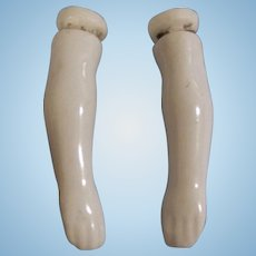 """Antique 1-1/2"""" China Doll Arms"""