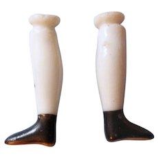 """Teeny Tiny 15/16"""" Antique China Doll Legs"""