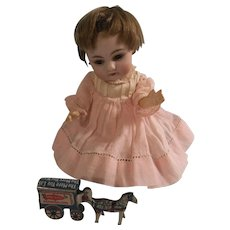 Adorable 1920s Cracker Jack Litho Prize Toy for your Special Doll