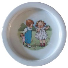 Darling Grace Dayton Campbell's Soup Kids Child's Dish c1920s
