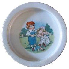 Darling Grace Dayton Campbell's Soup Kids Child's Dish c1920s - Broken Doll