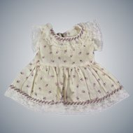 Darling Vintage Floral Doll Dress