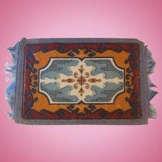Handsome Antique Oriental Dollhouse Rug