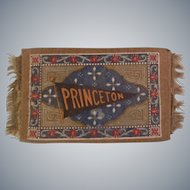 Princeton Dollhouse Rug for your Collegiate Dolls