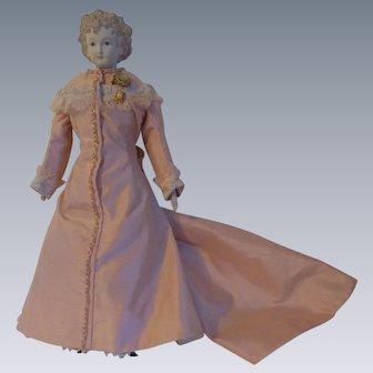 Gorgeous Vintage Emma Clear Parian Deirdre Doll c1949