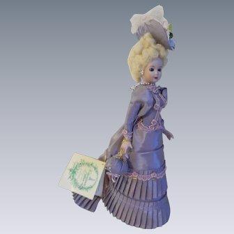Elegant Vintage 1987 Sylvia Porcelain Doll - Gorham Valentine's Ladies