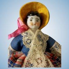 "Pretty 5"" Low Brow China Doll"