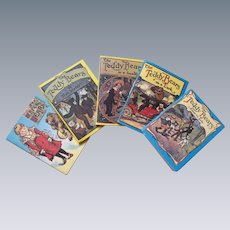 Adorable Set of 5 Miniature Bear Books