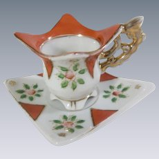 Delightful Mini Cup and Saucer for a Large Doll