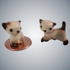Teeny Tiny Vintage Kittens for your Dollhouse