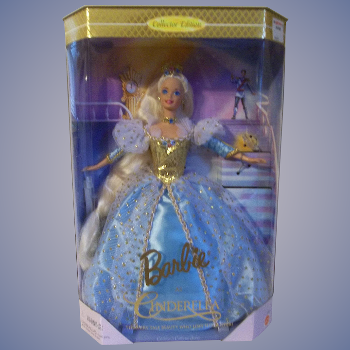 Vintage 1996 Barbie as Cinderella MIB - The Fairy Tale Beauty Who Lost her  Slipper